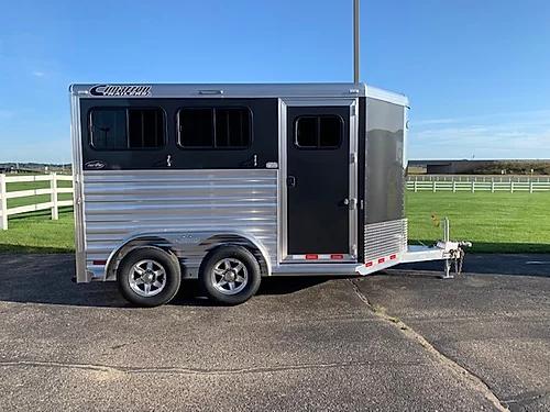 2020 Cimarron 2H BP Horse Trailer