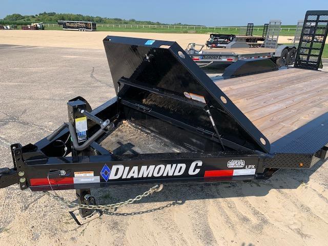 2021 Diamond C Trailers LPX207 Flatbed Trailer