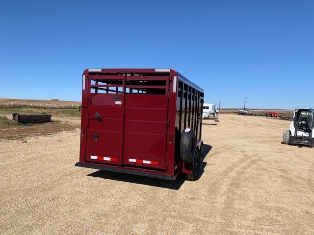 2021 S&S Manufacturing Stock BP Livestock Trailer
