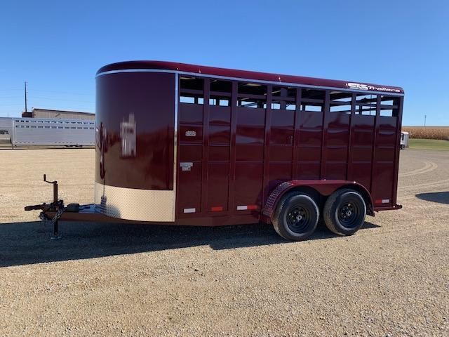 S&S 2021 Manufacturing Stock BP Livestock Trailer