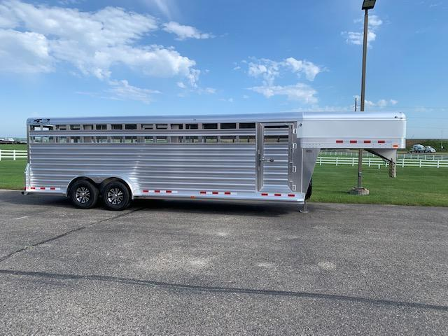 4-Star 2021 4SGS247 Stock Trailer