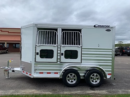Cimarron 2021 2H BP Horse Trailer