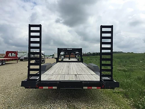 "New 2014 Delta 83"" x 24' Gooseneck Trailer"