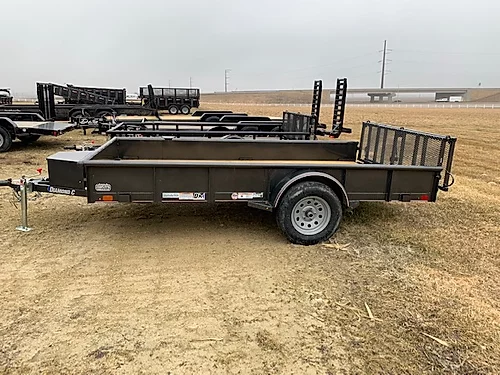 "2020 Diamond C 77"" x 12' SA Utility Trailer"