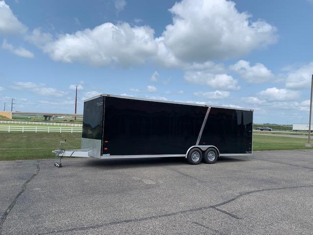 2015 American Hauler All Aluminum Enclosed Cargo Trailer