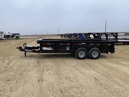 """2019 Diamond C 82"""" x 16' Dump Trailer"""