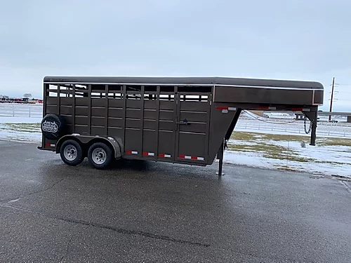 2020 S and S 16' Stock GN Trailer