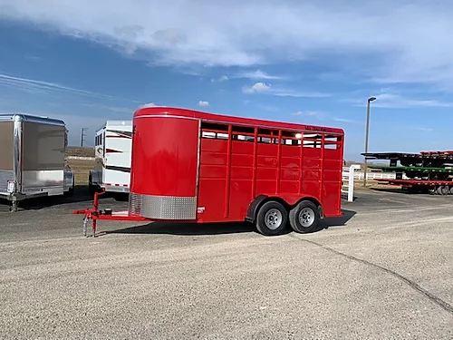 2021 S and S Stock BP Trailer