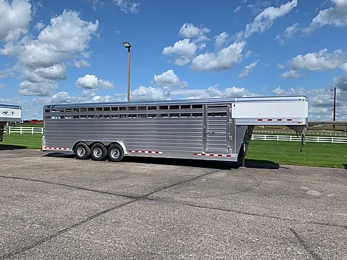 2020 4-Star 30' Stock GN Trailer - Triple Axle