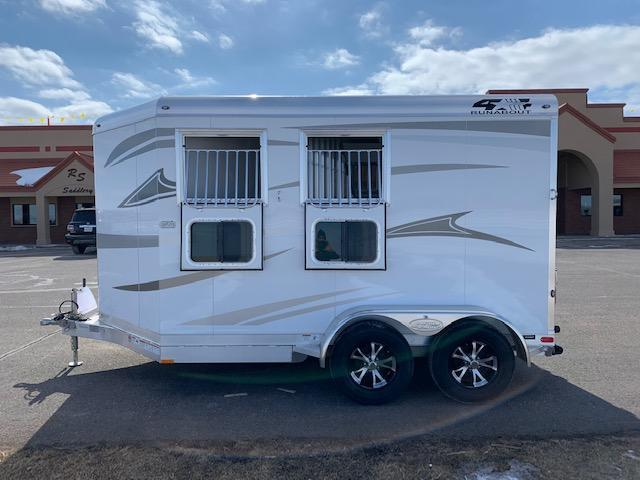 2021 4-Star Trailers 2H BP Horse Trailer