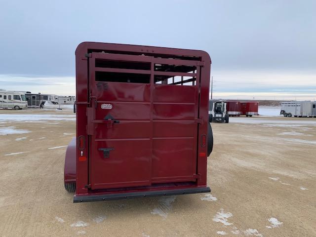 2021 S&S Manufacturing 16' Stock BP Livestock Trailer