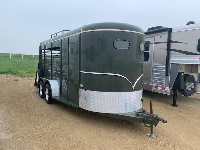 1993 W-W 3H BP Horse Trailer Selling AS-IS