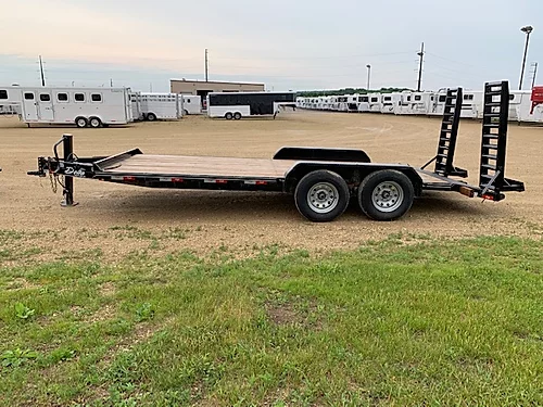 "2019 Delta 84"" x 18' Equipment Trailer"