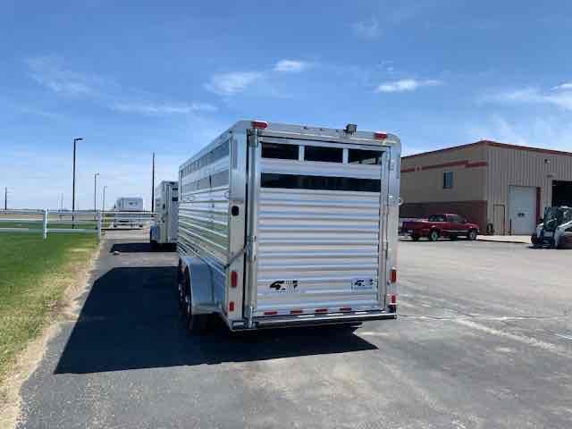 2020 4-Star Trailers Stock/Combo Livestock Trailer
