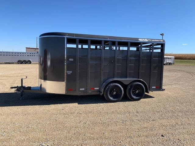2021 S&S Manufacturing Stock BP Livestock Trailer