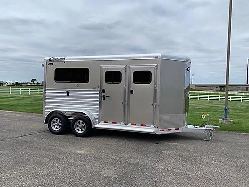 2021 Cimarron 2H BP Horse Trailer