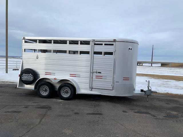 2015 W-W Trailer 16' St BP Livestock Trailer