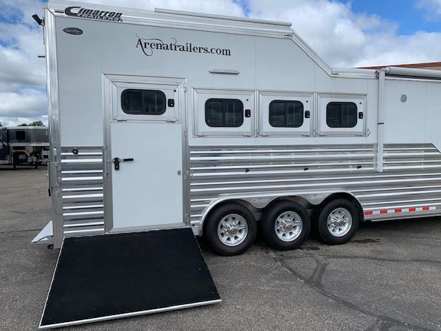 Cimarron 2020 4H LQ Horse Trailer