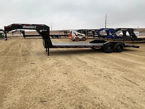 "2019 Diamond C 80"" x 24' Gooseneck Car Trailer"