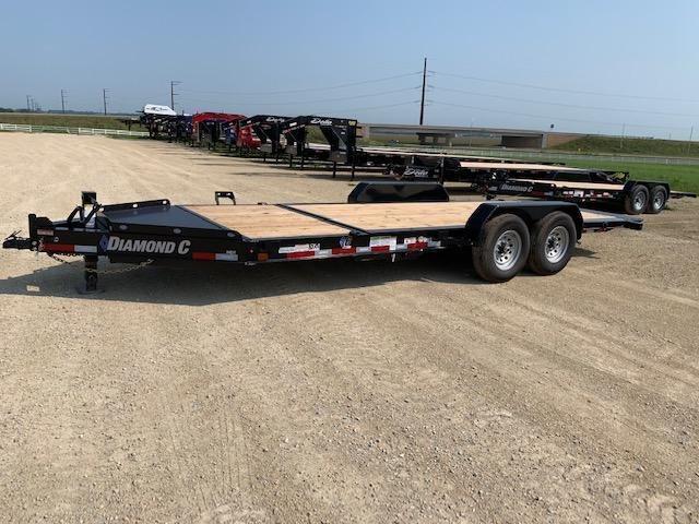 2020 Diamond C Trailers 20' BP FB Flatbed Trailer
