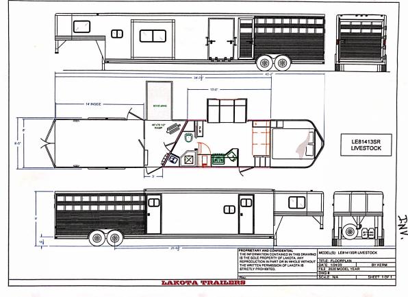 2022 Lakota 0356 Horse Trailer