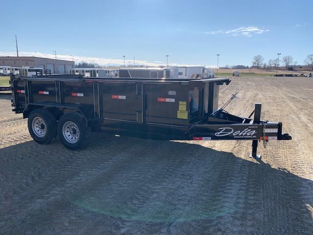 Delta 2020 Manufacturing 27NBD 7-Ton Narrow Body Dump Trailer Dump Trailer
