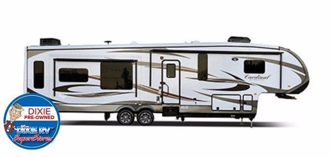 2014 Forest River, Inc. Cardinal 3727RE