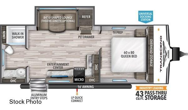 2021 Grand Design RV TRANSCEND 221RB