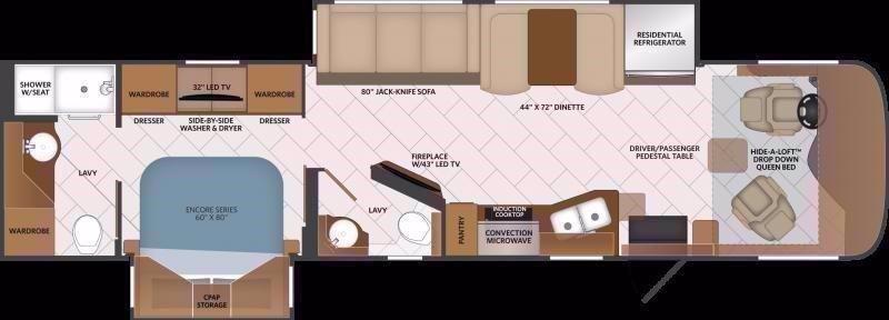 2021 Fleetwood RV PACE ARROW 36U