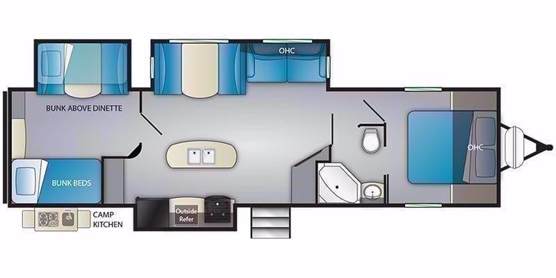 2021 Heartland RV PROWLER 330BH