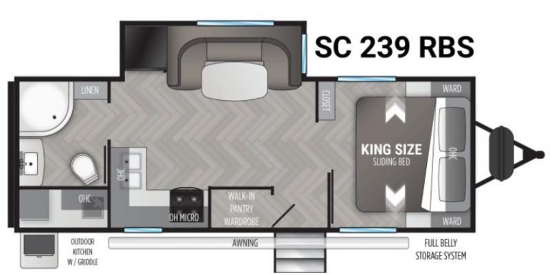 2022 Cruiser RV SHADOW CRUISER 239RBS