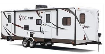 2014 Forest River VIBE LIMITED V-CROSS 829VBH