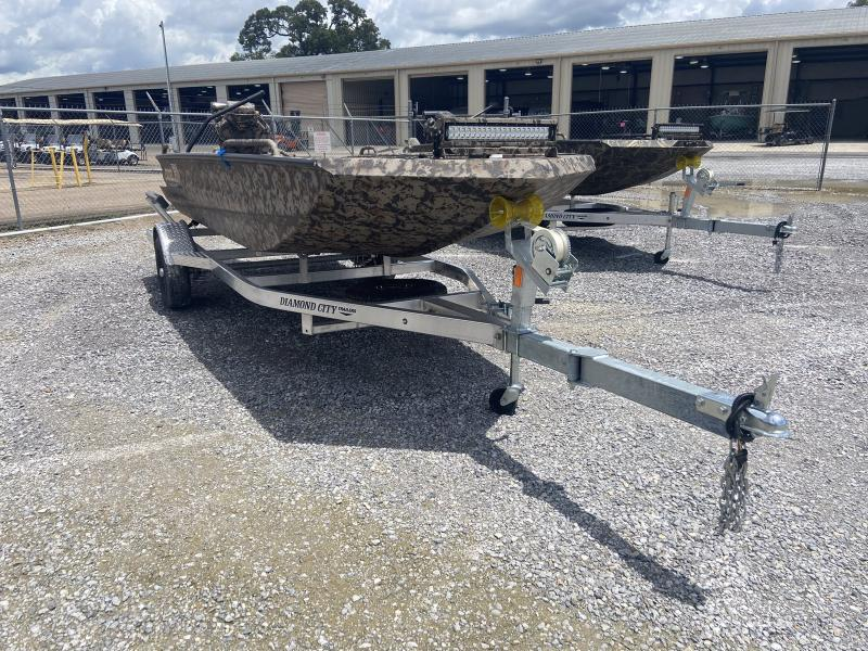 2021 Excel Boats SHALLOW WATER 1754 F4