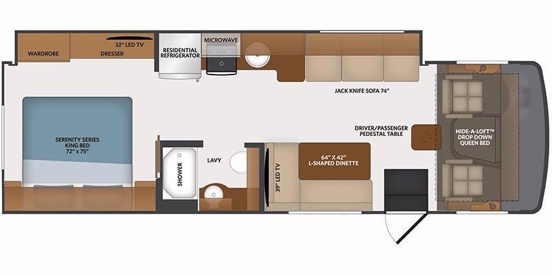 2021 Fleetwood RV FLAIR 29M