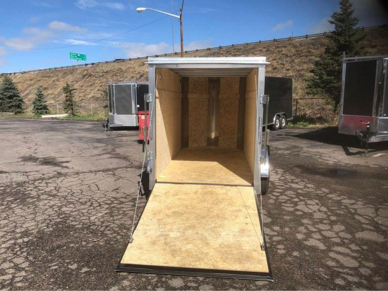 2022 R and M Manufacturing 5x10+v-nose Enclosed Cargo Trailer-WHEAT RIDGE