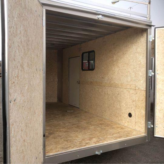 2021 R&M 7x14+v-nose (TAC) Enclosed Cargo Trailer-Wheat Ridge