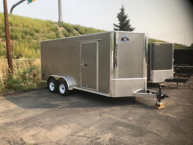 2021 R&M 7x16+v-nose (TAC) Enclosed Cargo Trailer-Wheat Ridge