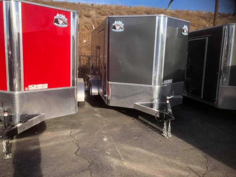 2020 R&M 7x14 v-nose (TAS) Enclosed Cargo Trailer-Wheat Ridge