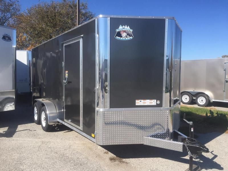 2022 R and M Manufacturing EC 7 16 TA Enclosed Cargo Trailer