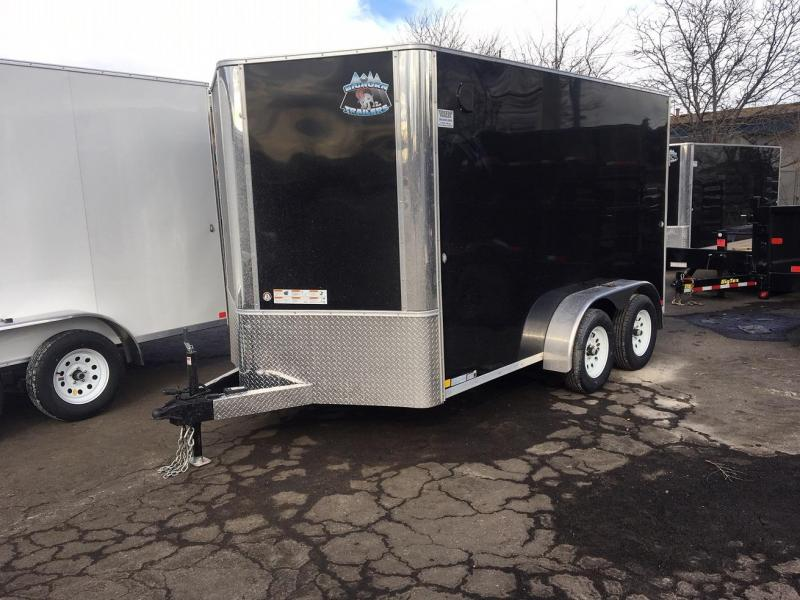 2020 R&M 7x12 v-nose (TAC) Enclosed Cargo Trailer-PENDING