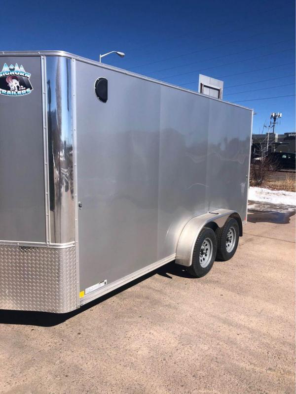 2021 R&M 7x14+v-nose (TAC) Enclosed Cargo Trailer-CO Springs