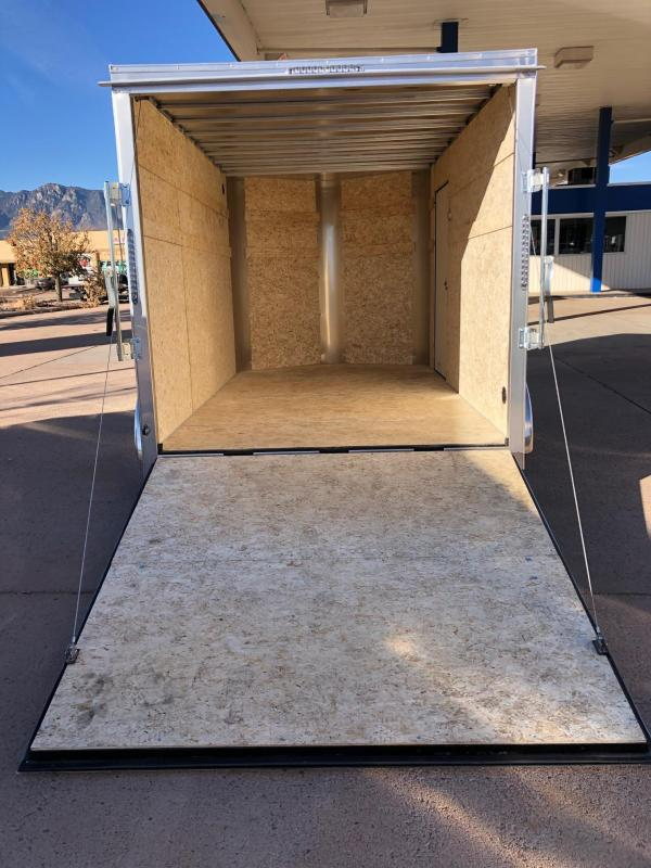 2022 R and M Manufacturing 7x12+v-nose (TAC) Enclosed Cargo Trailer-Wheat Ridge