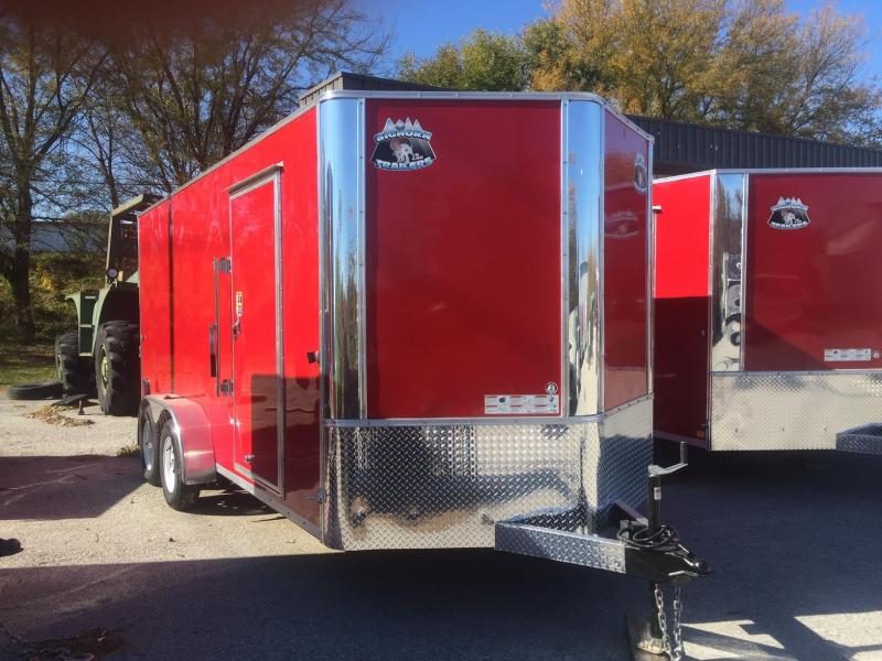 R&M EC 7 16 TA OM Enclosed Cargo Trailer
