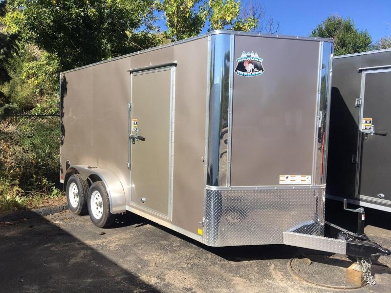2020 R&M 7x14 v-nose (TAC) Enclosed Cargo Trailer-PENDING