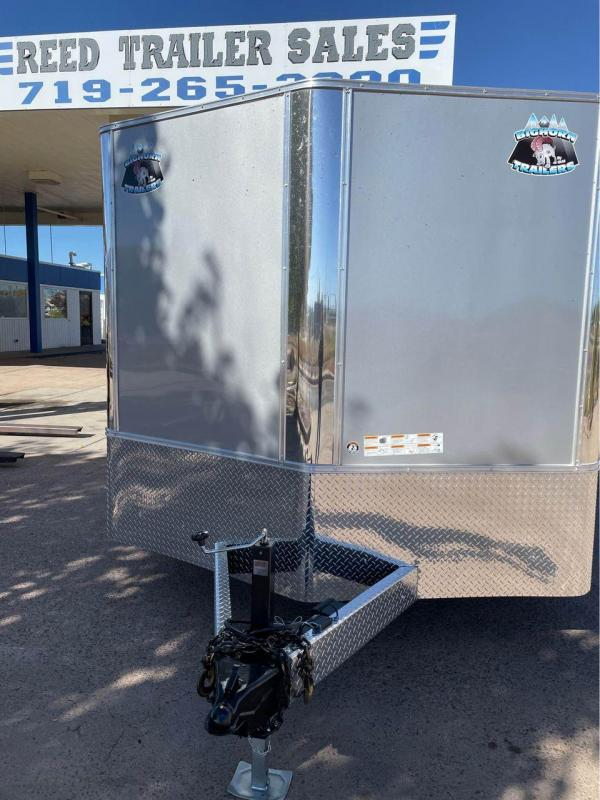 2022 R and M Manufacturing 8.5x20+v-nose (9990 GVWR) Enclosed Cargo Trailer-CO Springs