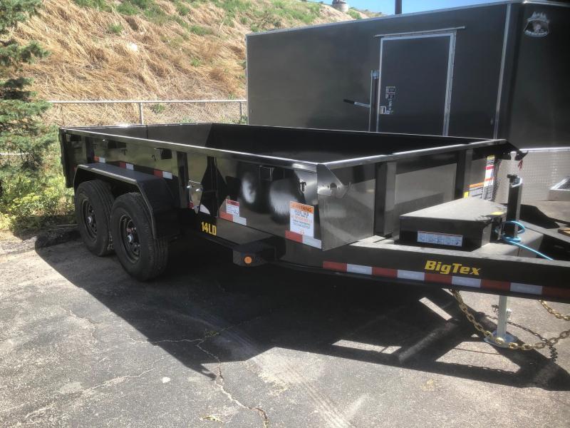 2021 Big Tex Trailers 14LD-14' w/ramps Dump Trailer-Wheat Ridge
