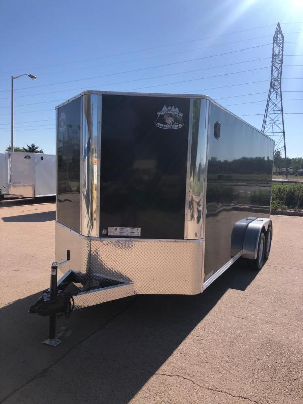 2021 R and M Manufacturing 7X16 V-NOSE (TAC) Enclosed Cargo Trailer