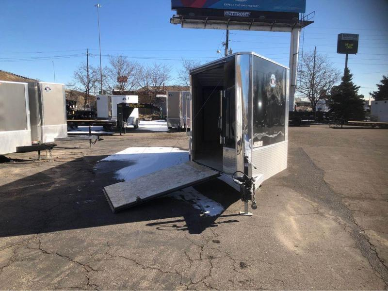 2021 R and M Manufacturing 7x16+5 v-nose (TAC) Enclosed Cargo Trailer