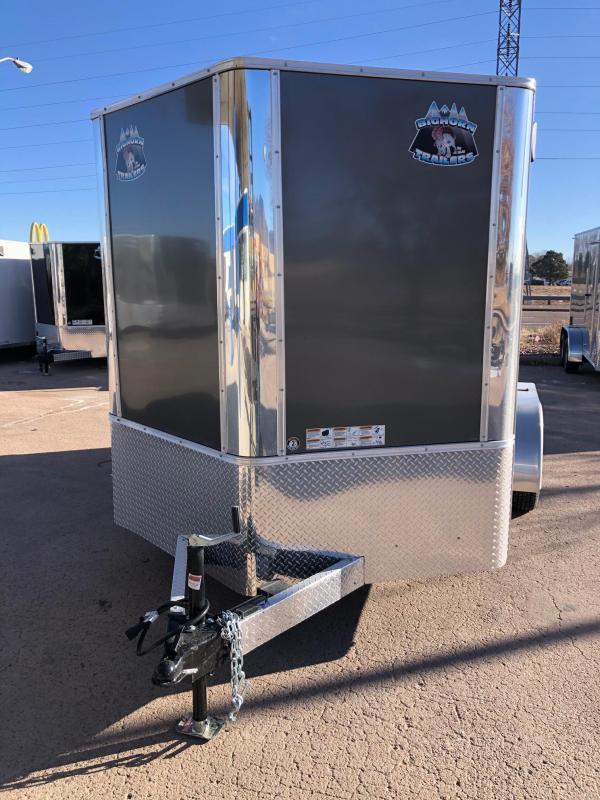 2021 R&M 7x12+v-nose (TAC) Enclosed Cargo Trailer-CO Springs
