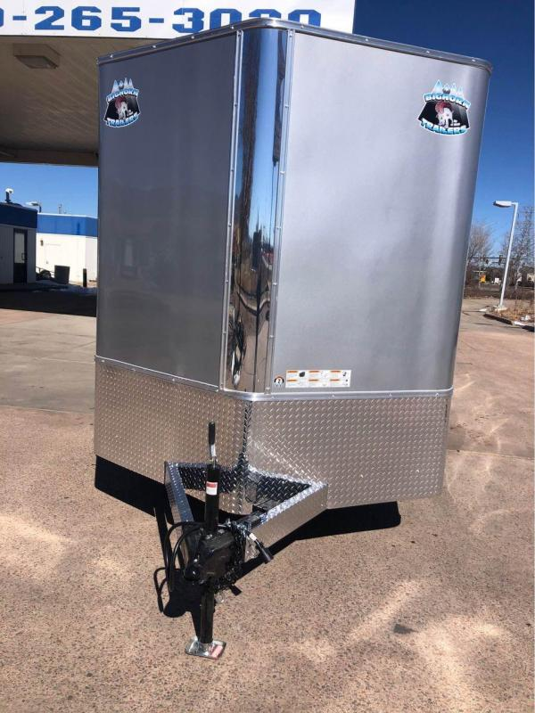 2021 R and M Manufacturing 7X14+V-NOSE (TAS) Enclosed Cargo Trailer